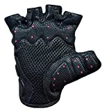 Gel-Handschuhe Fitness Gym Wear Gewicht Lifting Workout Training Radfahren New L