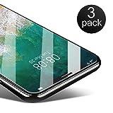 iPhone X Panzerglas [3 Stück],Coolreall Schutzfolie für iPhone 10 / iPhone X 5,8 Zoll [3D Touch Kompatibel,0,25 mm HD Ultra Transparent,9H Härtegrad]