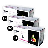 Pack 3x Toner schwarz kompatibel pc1270BK für Canon ImageClass D 881