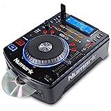 Numark NDX500 USB/CD Player und DJ Controller mit Jog Wheel zum Scratchen integriertes USB...