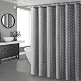 Badezimmer-Duschvorhänge Stellen-Trennvorhänge wasserdichte verdickte mouldproof Badezimmer-Vorhänge Grau freier Durchschlagsatz ( Size : 200*200cm )