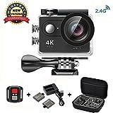 Action Cam 4K Wasserdicht Daping Action Kamera Sport Helmkamera WiFi 170° Weitwinkel 2,0 Zoll...