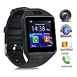 Bluetooth Smartwatch Android, DXABLE Smart Watch mit SIM-Kartensteckplatz machen Telefonanrufe...