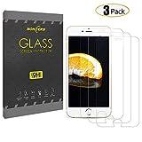 Panzerglas für Iphone 6 6s,3 Stück NONZERS 3D Touch Kompatibel,9H Härtegrad,Blasenfrei Einfache Montage, Anti-Öl,Kratzer,Blasen,Staub und Anti-Fingerabdruck Panzerglas Schutzfolie für iPhone 6 6s(4,7 Zoll)