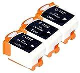 'Akia–LR 1Printstation–Kartusche Pack 3Kompatible Canon BCI11C/TUR A002â € Tintenpatrone Farbe