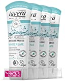 lavera Handcreme basis sensitiv ∙ Bio Mandelöl & Bio Sheabutter ∙ Intensive Handpflege ∙ vegan ✔ Bio ✔ Natural & innovative Hand Care ✔ Naturkosmetik 4er Pack (4x 75ml)