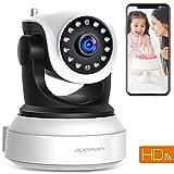 APEMAN 720P Wlan IP Kamera WIFI Überwachungskamera mit Nachtsicht Bewegungserkennung 2 Wege Audio...