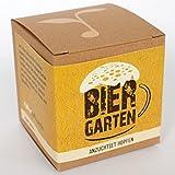 Geschenk-Anzuchtset 'Biergarten' - Echter Brauhopfen