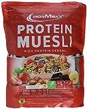 IronMaxx Protein Müsli Schokolade / Veganes Fitness Müsli laktosefrei und glutenfrei / Eiweiß Müsli mit Schokoladengeschmack / 1 x 2 kg