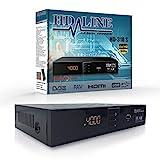 HD LINE 310 Digitaler Satelliten Receiver (HDTV, DVB-S/S2, HDMI, SCART, 2x USB 2.0, FULL HD 1080P)...