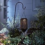 Marokkanische Solar Laterne Stableuchte Garten Deko Lights4fun