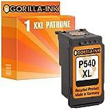 Gorilla-Ink® 1x Druckerpatrone XXL remanufactured für Canon PG-540 XL Pixma MG 4140 MG 4150 MG 4250 MX 370 MX 375 MX 395