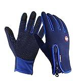 Speedrid Radfahren Handschuhe, Touchscreen Outdoor Sport Winter Bike Handschuhe, Wasserdicht...