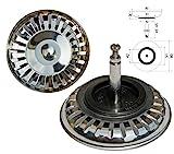 Universal Siebkörbchen für Excenterbedienung mit Durchmesser 81 mm / Siebkorb / Universalsieb / Ablaufsieb / Ersatzteil