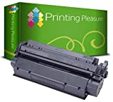 Printing Pleasure C7115A 15A/Q2613A 13A/EP-25Toner kompatibel für HP LaserJet 1000/1005/1200/1220/1300/3080/3300/3310/3330/3380/Canon LBP-1210/558Serie, schwarz