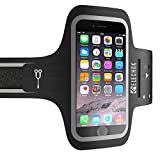 ELECHOK Schweißfest Sport Armband Universell Handyhülle iPhone,Android-ID Touch-Mit...