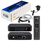 MAG 322 Original Infomir & HB-DIGITAL IPTV SET TOP BOX Multimedia Player Internet TV IP Receiver (HEVC H.256 support) Nachfolger von MAG 254 + HB Digital HDMI Kabel + LAN Patch Kabel
