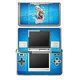 Nintendo DS Case Skin Sticker aus Vinyl-Folie Aufkleber Disney Frozen Fanartikel Geschenke