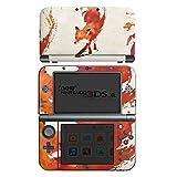 Nintendo New 3DS XL Case Skin Sticker aus Vinyl-Folie Aufkleber Fuchs Vulpes Art