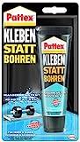 Pattex Kleben statt Bohren Wasserresistent, Weiß, 142 Gramm, PKBW1