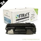 3x MWT Premium Toner ersetzt Canon C-EXV 40 Patronen - für Imagerunner IR 1133 a / iF - deutsche Qualität von MWT - kein Original