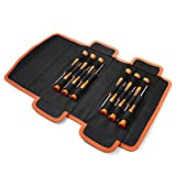 Schraubendreher Set, TACKLIFE 12 Pcs Mini Schraubendreher-Set, Micro Schraubendrehersatz für Uhr, Brille, Modellbau, Handy, PC, Laptop (Philips, Slot, Torx Star, Magnetic Tips) -HSS2B
