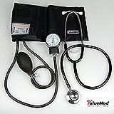 Blutdruckmessgerät und Stethoskop