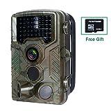 Wildkamera mit Bewegungsmelder, FLAGPOWER Wildkamera Fotofalle 16MP 1080P Full HD Jagdkamera...