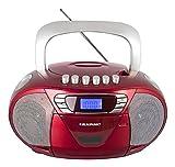 Blaupunkt Boombox 11 PLL | tragbarer Kinder CD-Player, Radio mit Kassettenrekorder inklusive Aux In,...