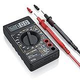 CSL - Digital Multimeter | Messgerät Spannungsmesser Stromprüfer Widerstand Strommessgerät | Akustische Durchgangsprüfung und Diodentests