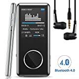 [Neue Version] MP3 Player,Tinzzi MP3-Player Musik-Player Bluetooth Mit kompatibel HIFI,Digitales...