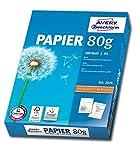 Avery Zweckform 2574 Drucker und Kopierpapier (A4, 80 g/m², alle Drucker) 500 Blatt weiß