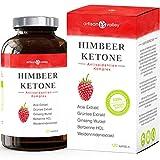 Himbeerketon Extrakt zur Diätunterstützung· Hochdosiert · Appetitzügler · Antioxidantien Komplex · 120 Kapseln · Deutsche Herstellung · Zufriedenheitsgarantie