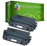 PRINTING PLEASURE 2 Toner kompatibel für HP Laserjet 5000 / 5100 / Canon Imageclass 2200 / 2210 / 2220 / 2250 / LBP-1610 / LBP-1620 / LBP-1810 / LBP-1820 / LBP-62x / LBP-840 / LBP-850 / LBP-870 / LBP-880 / LBP-910 / FP-300 / FP-400 / GP-160F / C4129X / 29X / EP-62 / 3842A002AA Schwarz / Black