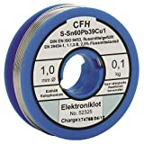 CFH Elektroniklot flussmittelgefüllt, 100 g 52325