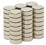 SBS® Neodym Magnet 8x3 mm 20 Stück Magnete Extrem Stark