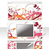 Nintendo DS Lite Skin ' SOMMERBLUMEN ' Aufkleber Sticker Folie Schutzfolie