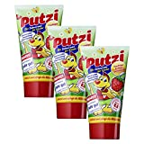 3er Pack Putzi Die Zahncreme fr Kinder Erdbeere (3 x 50 ml)Kinderzahncreme, Kinderzahnpasta, Zahnpflege, Zahnpaste