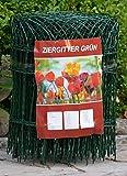 Ziergitter Gartengitter Gartenzaun Maschendrahtzaun 40 cm hoch 25 m lang