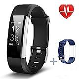 Fitness Armbänder, Pruvancy Fitness tracker mit Pulsmesser, Fitness Aktivitätstracker...