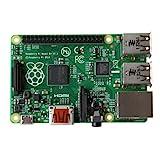 Raspberry Pi Model B+ Mainboard (GPIO polig, MicroSD Speicherkartenslot, HDMI, 4x USB 2.0)