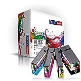 4er Multipack kompatible Druckerpatronen für Canon PGI 1500XL mit Chip - passend für Maxify MB 2000 2050 2300 Series 2350