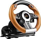 Speedlink Gaming Lenkrad für PS3 - DRIFT O.Z. Racing Wheel USB (Schaltknauf, Gas- und Bremse-Pedale...