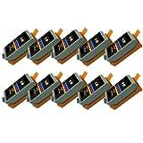 10x Discount refill Tintenpatrone BCI 16 für Canon Selphy DS 700, DS 810. -10x COLOR -