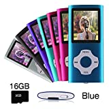 Ueleknight MP3/MP4-Player mit einer 16G Micro SD-Karte, Portable Digital Music Player auch als...