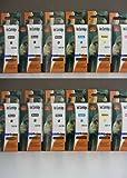 12 komp. Druckerpatronen CANON PGI-520BK CLI-521BK CLI-521C CLI-521M CLI-521Y 4x BK schwarz dick / 2x BK schwarz dünn / 2x blau / 2x rot / 2x gelb