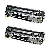 2 Toner für Canon Cartridge 726 I-sensys LBP 6200 D Series 6230 DW - 3483B002 - Schwarz je 2100 Seiten