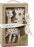 VULLI 616624 Sophie la girafe + 1 Schnuller/Zahnungshilfe SO'PURE, beige