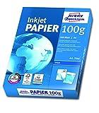 Avery Zweckform 2566 Inkjet Druckerpapier (A4, 100 g/m², blickdicht, seitenmatt) 500 Blatt...