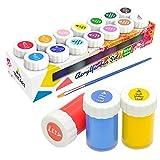 Acryl-Farben-Set für Kinder und Erwachsene | 14er Acryl Farbset von Tritart
